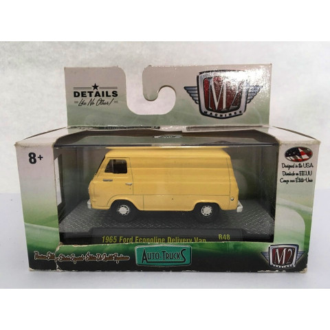 M2 Machines - 1965 Ford Econoline Delivery Van Amarelo - Auto-Trucks