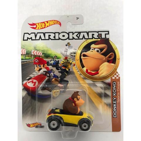 Hot Wheels - Donkey Kong Amarelo - Mario Kart
