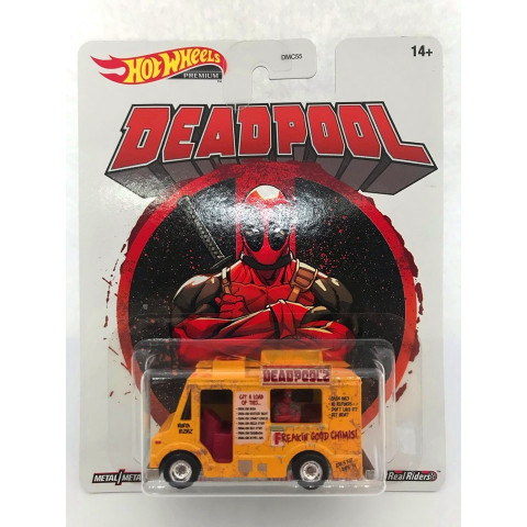 Hot Wheels - Deadpool Chimichanga Truck Amarelo - Deadpool
