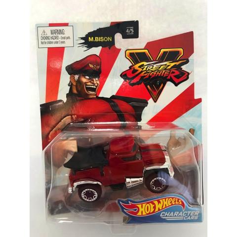 Hot Wheels - M.Bison Vermelho - Street Fighter