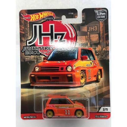 Hot Wheels - 85 Honda City Turbo    Laranja - Japan Historics - Car Culture