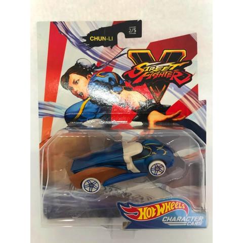 Hot Wheels - Chun-Li Azul - Street Fighter
