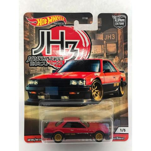 Hot Wheels - Nissan Skyline RS (KDR30) Preto/Vermelho - Japan Historics - Car Culture