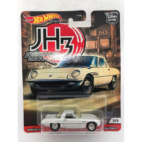 Hot Wheels - 68 Mazda Cosmo Sport Branco - Japan Historics - Car Culture