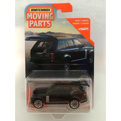 Matchbox - 2018 Range Rover Vogue SE Preto - Moving Parts - Básico 2020
