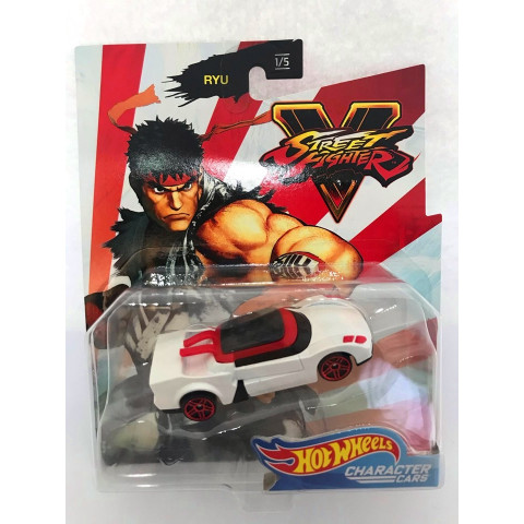 Hot Wheels - Ryu Branco - Street Fighter