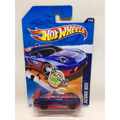 Hot Wheels - Acura NSX Azul - Mainline 2011