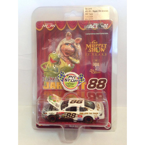 Action - Ford Taurus Branco - Dale Jarrett - Nascar - The Muppet Show