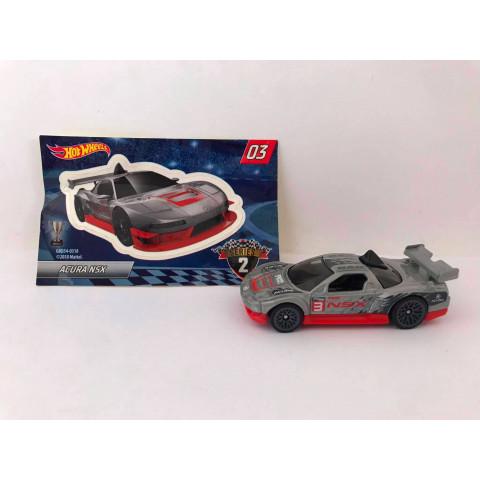 Hot Wheels - Acura NSX Cinza - Mystery Models - Walmart Exclusivo 2019