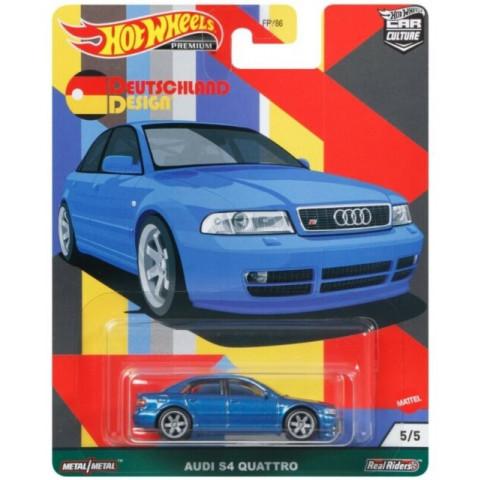 Hot Wheels - Audi S4 Quattro Azul - Deutschland Design - Car Culture
