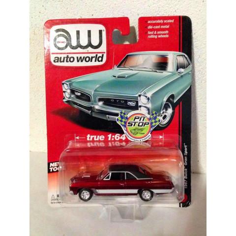 Auto World - 1967 Buick Gran Sport Vermelho - Ultra Red