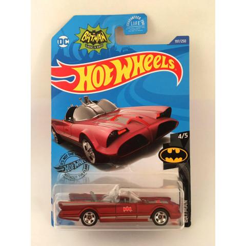 Hot Wheels - Tv Series Batmobile - Exclusivo Lojas Kroger 2020