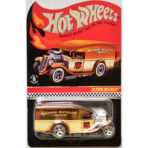Hot Wheels - Blown Delivery Marrom - Red Line Club