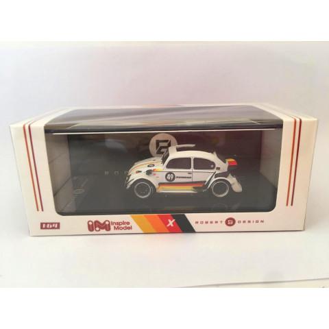 Inspire Model - Volkswagen RWB Beetle Branco/Alemanha - Robert Design - Limited Edition 1000pc