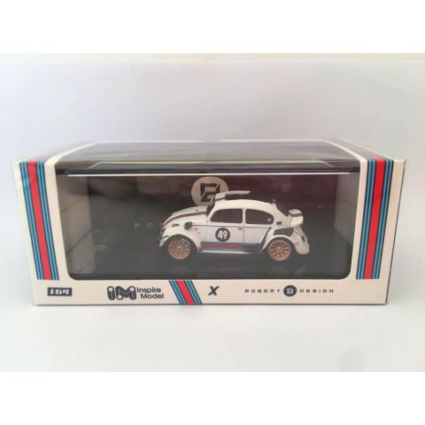 Inspire Model - Volkswagen RWB Beetle Branco - Robert Design - Limited Edition 1000pc