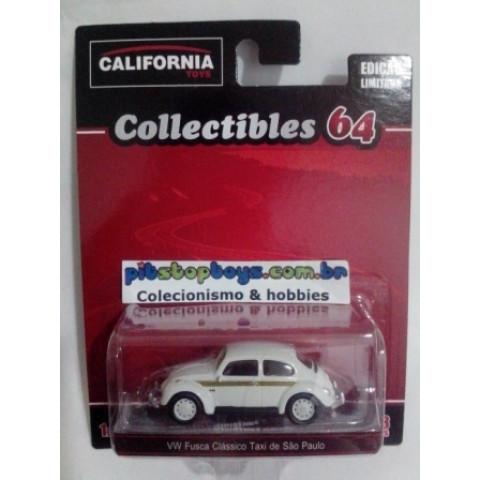 California Toys - VW Fusca Clássico Taxi de São Paulo - Collectibles 64