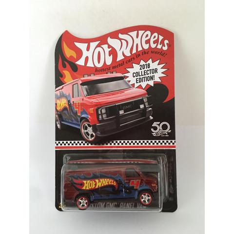 Hot Wheels - Custom GMC Panel Van Vermelho - 2018 Collector Edition Kmart