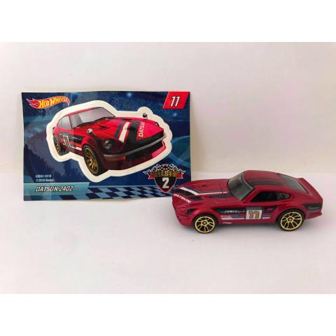 Hot Wheels - Datsun 240Z Vermelho - Mystery Models - Walmart Exclusivo 2019