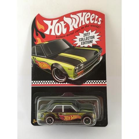 Hot Wheels - Datsun Bluebird 510 Verde - 2017 Collector Edition Kmart