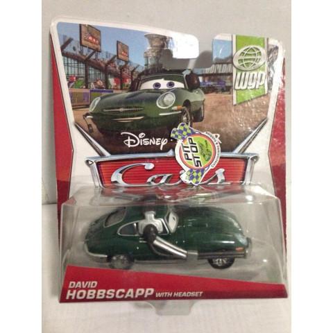 Disney Cars - David Hobbscapp With Headset - WGP