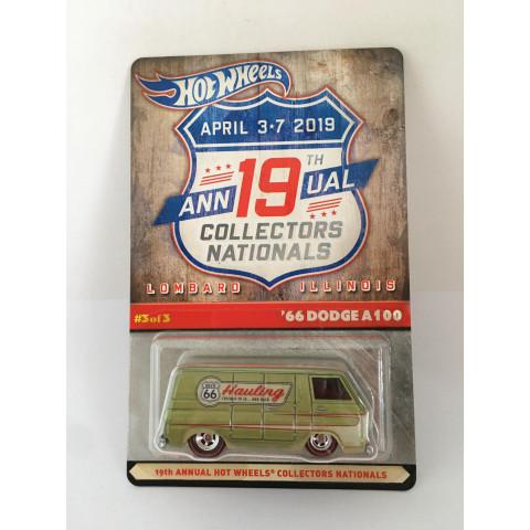 Hot Wheels - 66 Dodge A100 - April 3*7 2019 - 19th Annual Collectors Nationals