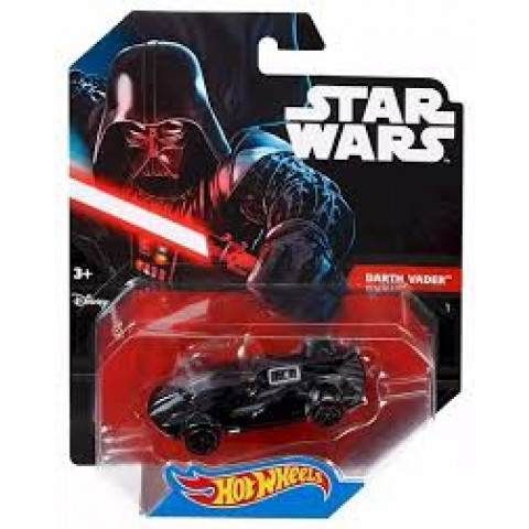 Hot Wheels - Darth Vader Preto - Star Wars
