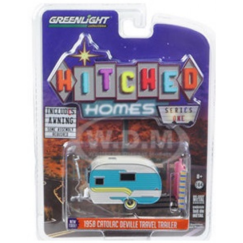 Greenlight - 1958 Catolac DeVille Travel Trailer - Hitched Homes