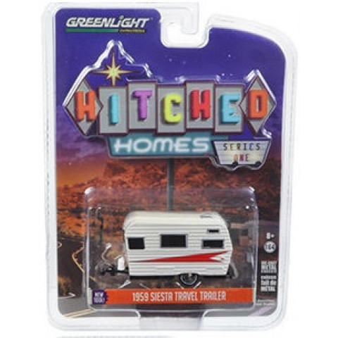Greenlight - 1959 Siesta Travel Trailer - Hitched Homes