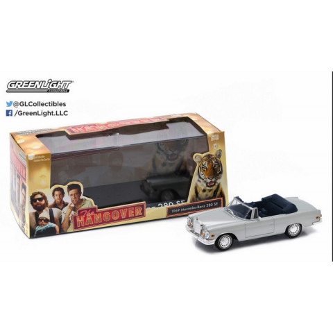 Greenlight - 1969 Mercedes-Benz 280 SE Convetible - Se Beber Não Case - The Hangover - Hollywood