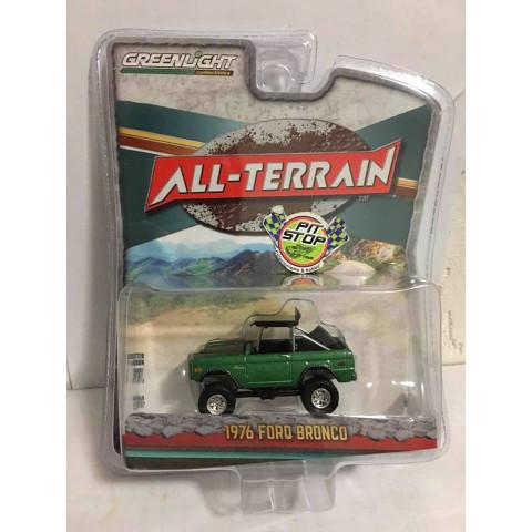 Greenlight - 1976 Ford Bronco Verde - All-Terrain