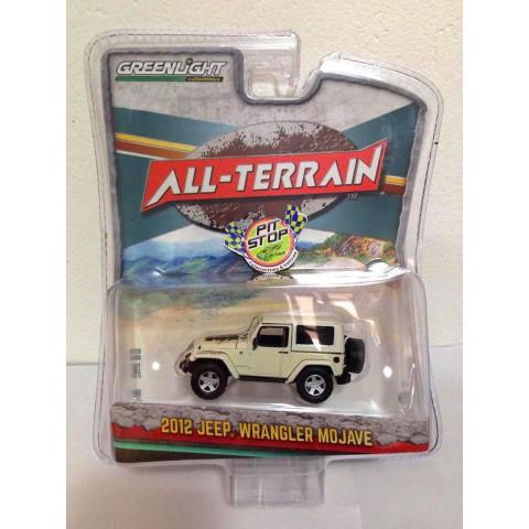 Greenlight - 2012 Jeep Wrangler Mojave Branco - All Terrain