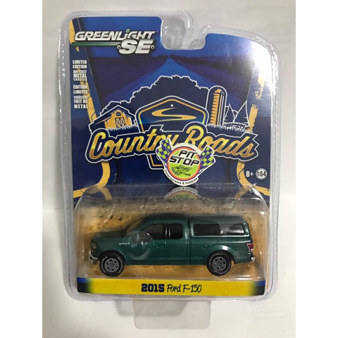 Greenlight - 2015 Ford F-150 Verde - Country Roads