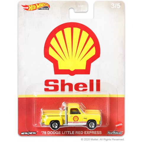 Hot Wheels - 78 Dodge Little Red Express Amarelo - Shell - Fuel
