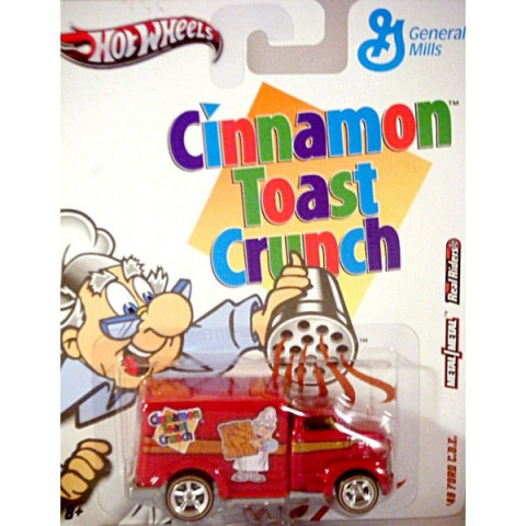 Hot Wheels - 49 Ford COE - Cinnamon Toast Crunch - General Mills