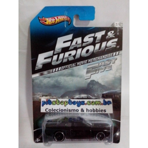 Hot Wheels - 08 Dodge Challenger SRT8 - Fast & Furious