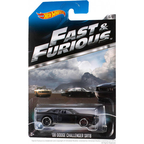 Hot Wheels - 08 Dodge Challenger SRT8 HEMI - Fast & Furious
