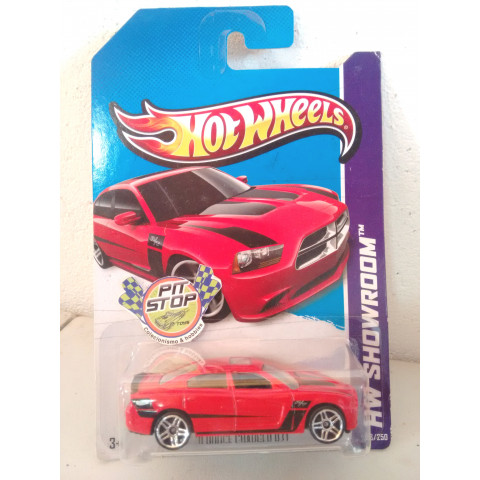 Hot Wheels - 11 Dodge Charger R/T Vermelho - Mainline 2013