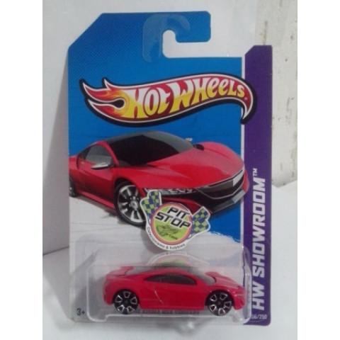 Hot Wheels - 12 Acura NSX Concept Vermelho - Mainline 2013