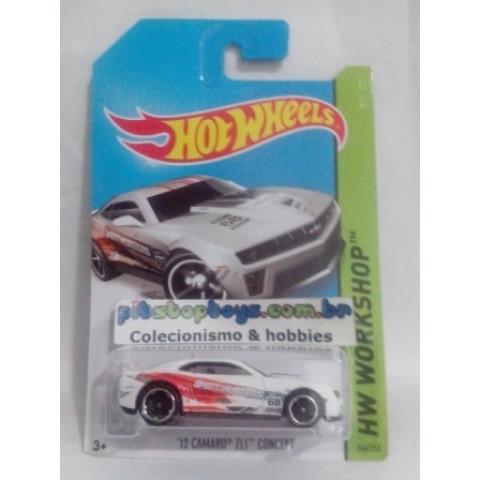 Hot Wheels - 12 Camaro ZL1 Concept - Mainline 2014