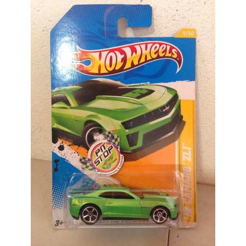 Hot Wheels - 12 Camaro ZL1 Verde - Mainline 2012