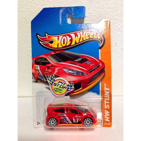 Hot Wheels - 12 Ford Fiesta Vemelho - Treasure Hunt 2013