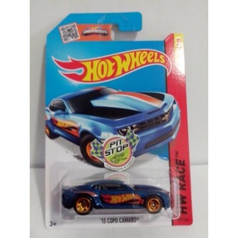Hot Wheels - 13 Copo Camaro Azul - Mainline 2015