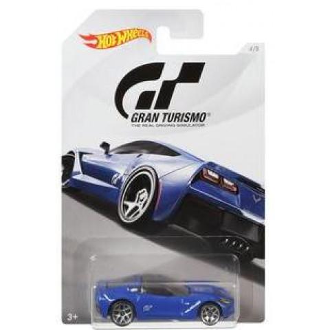 Hot Wheels - 14 Corvette Stingray Azul - Gran Turismo