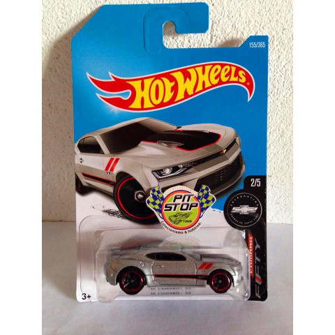 Hot Wheels - 16 Camaro SS Cinza - Mainline 2017