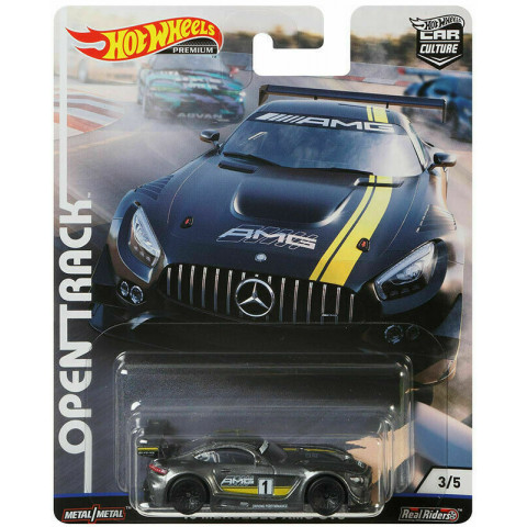Hot Wheels - 16 Mercedes-AMG GT3 - Open Track