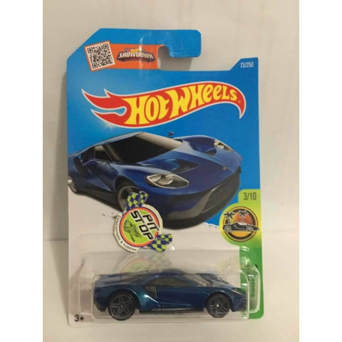 Hot Wheels - 17 Ford GT Azul - Mainline 2016
