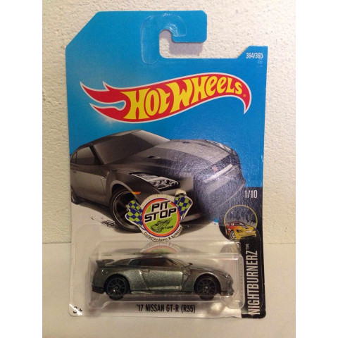 Hot Wheels - 17 Nissan GT-R (R35) Fosco - Mainline 2017