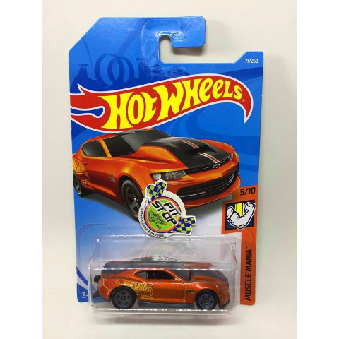 Hot Wheels - 18 Copo Camaro SS Laranja - Mainline 2019
