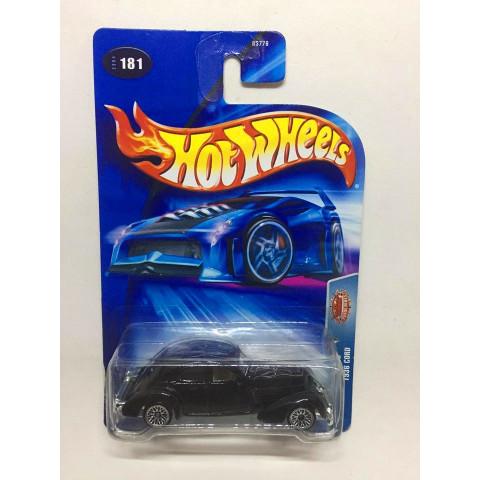 Hot Wheels - 1936 Cord Preto - Mainline 2004
