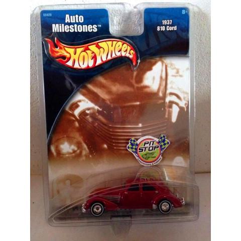 Hot Wheels - 1937 810 Cord Vermelho - Auto Milestones